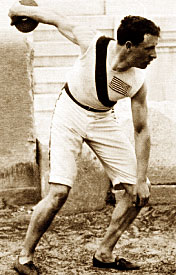 Discus thrower from 1896 Olympics